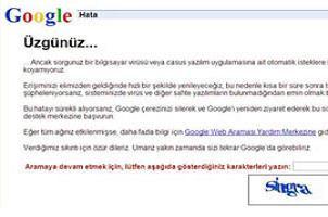 Google'a girenler g�zlerine inanamad�.11925