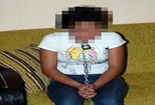 Kızını zincirleyen baba serbest bırakıldı.11601