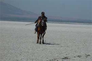 Akşehir Gölü su tutmaya başladı.8093