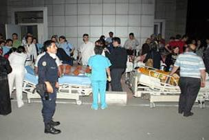 Hastane yangınında raporlar hazırlanıyor.13210