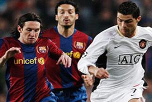 Barcelona: 2 M.United: 0.15396