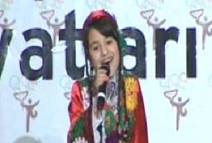 Tacikistanl� ��renciden 'Melek'.11373