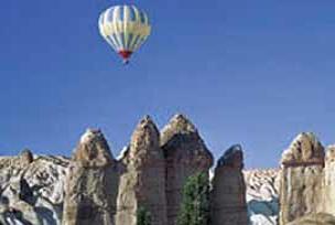 Nevşehir'de balon kazası: 1 kişi öldü.9056