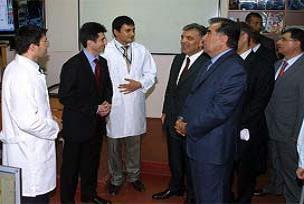 Gül Tacikistan'da Türk okulana gitti.12931