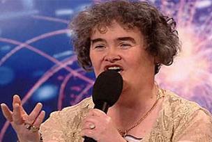 Susan Boyle hastaneye kaldırıldı.13822