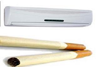 Sigara yasağını klima ile delecekler.10285