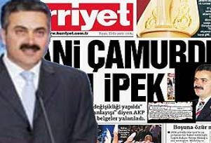 Hürriyet'in manşeti İpek'ten döndü.18440