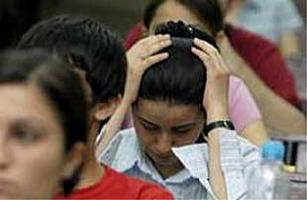 Stres yenilmeden sınav kazanılmaz.11155
