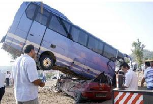 Diyarbakır'da zincirleme kaza: 4 ölü.13830