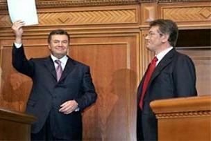 Yuşçenko'nun bakanı görevden alındı.12265
