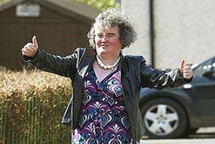 Susan Boyle hastaneden çıktı.15761