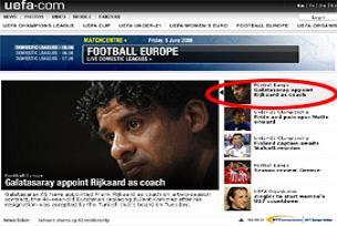 UEFA, Frank Rijkaard'ı nasıl duyurdu?.16107