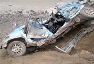 Alkollü sürücünün korkunç ölümü.13725