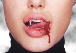 Vampir furyası aldı başını gidiyor.8471