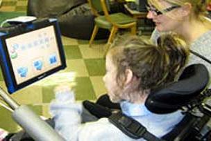 Bu teknoloji iletişim sorunlu çocuklar için.13936