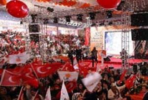 AK Parti Osmaniye Kongresi'nde olay.17530
