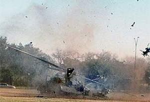 Tayvan'da helikopter düştü: 1 ölü.11102