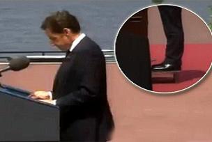 Sarkozy'nin karizması yerle bir oldu.8448