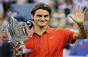 Federer, Gerry Weber'den �ekildi.16086