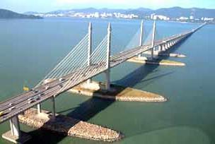 450 milyon dolarlık köprü açıldı.11444