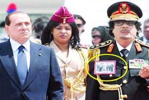 Kaddafi, Silvio'yu Ömer Muhtar'la vurdu.15846