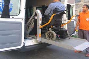 ÖSS'ye girecek engellilere ücretsiz servis.12979