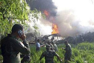 Endonezya'da ikinci helikopter kazas�: 4 �l�.15428
