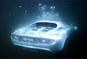Su altında giden araba üretildi!.6759