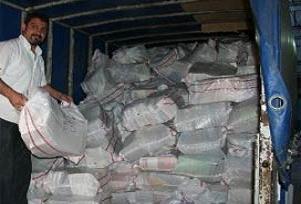 Adana'da 150 çuval korsan CD ve kitap.13838