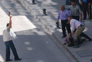 Şehit polis geride 3 öksüz bıraktı.10509