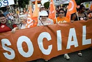 Fransa'da sendikalardan protesto.16243