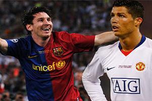 Ronaldo, Messi'ye ta� att�....14075