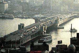 Galata Köprüsü trafiğe kapatılacak.19750