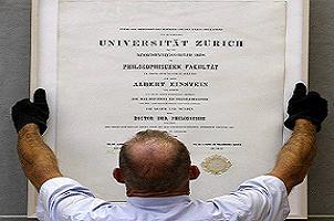 Einstein'ın diploması 199 bin euro.14450
