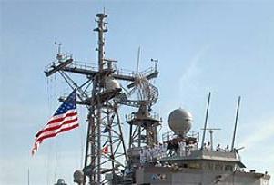 ABD savaş gemisi Bodrum'da.11700