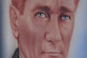 İşte tepkileri çeken Atatürk posteri .6303