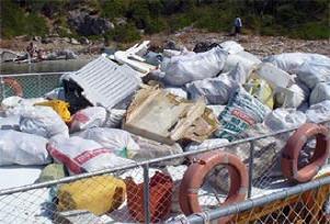 Bu çöpler doğa harikasından çıktı.18970