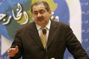 Zebari: İran'daki olaylardan rahatsızız.10381