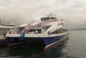 Bursa'da deniz ulaşımı için ilk adım.9506