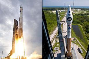 NASA Ay'a iki uzay aracı gönderdi.13558