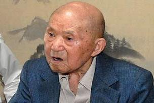 Dünyanın en yaşlı adamı öldü.11201