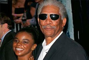 Morgan Freeman torunuyla mı birlikte?.11248