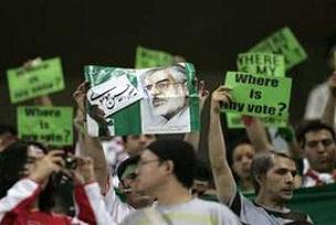 İran'da seçimler yenilensin talebi.12576