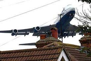 Uçak yolcularını korkutan anons.13879