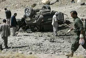 Afganistan'ın güneyinde 8 polis öldürüldü.19455