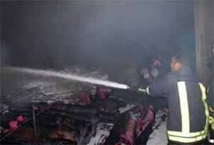 Lastik fabrikasında patlama: 4 yaralı.8742