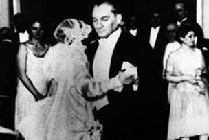 Atatürk'le yaptığı dans, eşini çıldırtmış!.10864