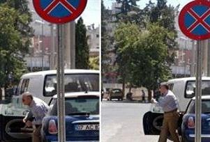 CHP lideri Baykal trafik canavarı çıktı.16949