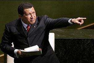 Chavez: D�nya �ran'a sayg� g�stermeli.10081
