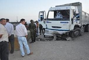 Şırnak'ta trafik kazası: 1 ölü.11613